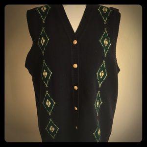 Vintage Pendleton Argyle Sweater Vest